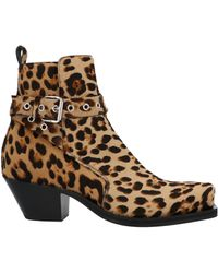 Versace Ankle Boots - Brown