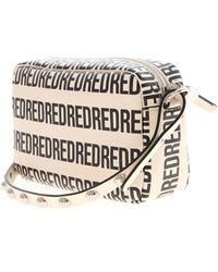 RED Valentino Redvalentino Allover Logo Crossbody Bag - White