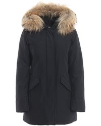 Woolrich Arctic Parka Padded Coat - Blue