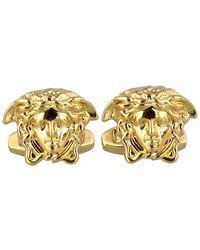 Versace Gold Medusa Cufflinks - Metallic