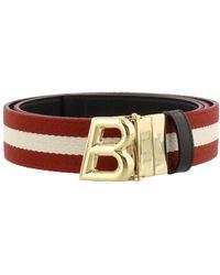 Bally B Oblique Belt - Multicolor