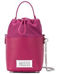 Maison Margiela 5ac Bucket Bag - Purple