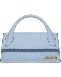 Jacquemus Le Chiquito Long Baguette Handbag - Blue