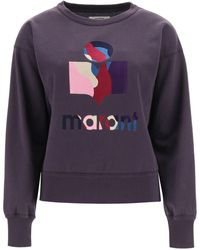 Étoile Isabel Marant Moby Crewneck Sweatshirt - Purple