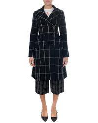 Dior - Check Coat - Lyst