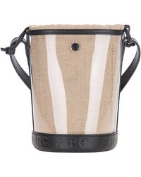 A.P.C. Hélène Small Bucket Bag - Natural