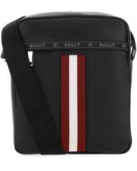 Bally Leather Holm Crossbody Bag - Black