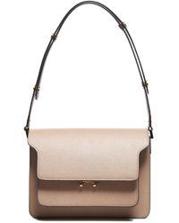 Marni Trunk Shoulder Bag - Natural