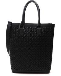 Bottega Veneta Woven Tote Bag - Only One Size / Black