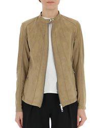 DESA NINETEENSEVENTYTWO Zip-up Jacket - Natural