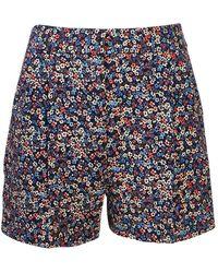 MICHAEL Michael Kors Floral Shorts - Blue