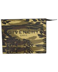 Givenchy Medium Pouch With Logo - Multicolour