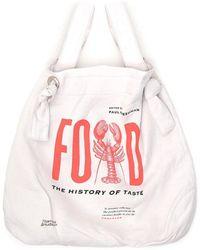 Junya Watanabe Printed Shopping Bag - Multicolour