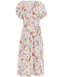 Art Dealer Floral Print Maxi Dress - Multicolour