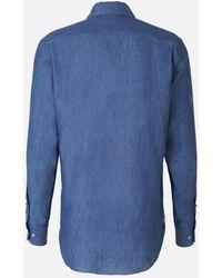 Loro Piana Buttoned Shirt - Blue