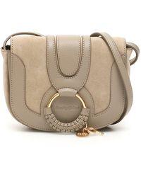 See By Chloé Hana Mini Crossbody Bag - Grey