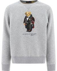 Ralph Lauren Polo Bear Sweater - Gray
