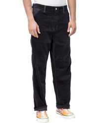 Carhartt WIP Patchwork Mid-rise Trousers - Blue