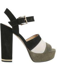 MICHAEL Michael Kors Anise Platfrom Sandals - Black