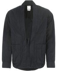 Visvim Tie-front Kimono Jacket - Black
