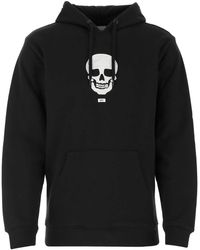 Vans Black Cotton Sweatshirt Nd Uomo
