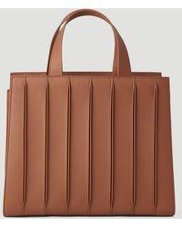 Max Mara Whitney Medium Tote Bag - Brown