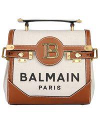 Balmain B-buzz 23 Top Handle Tote Bag - Multicolour