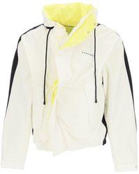 Y. Project Asymmetric Cotton Blouson S Cotton - Multicolour