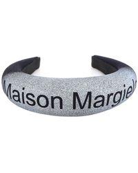 MM6 by Maison Martin Margiela Logo Hairband - Blue