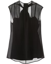 Prada Sleeveless Top - Black