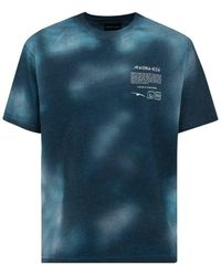 Mauna Kea Outsiders Tie-dye Detailed T-shirt - Blue