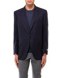 Canali Single Breasted Blazer - Blue