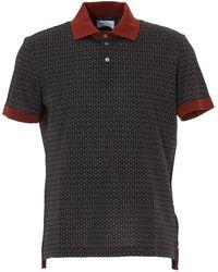 Ferragamo Polo T-shirt - Gray