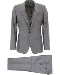 Dolce & Gabbana Three-piece Martini Suit - Grey