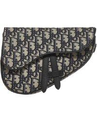 Dior Saddle Oblique Mini Crossbody Bag - Multicolour
