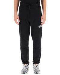 The North Face Logo Print Track Pants - Black