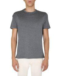 Brunello Cucinelli Crewneck T-shirt - Grey