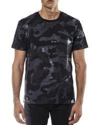 Valentino Camouflage Printed T-shirt