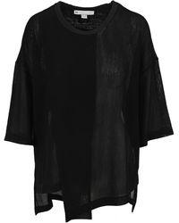 Y-3 Asymmetric T-shirt - Black