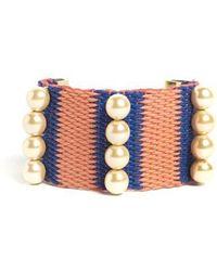 Marni - Embellished Knit Cuff - Lyst