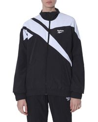 Reebok Sweatshirt Track With Zip Unisex - Black