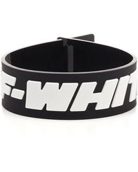 Off-White c/o Virgil Abloh 2.0 Industrial Bracelet - Black