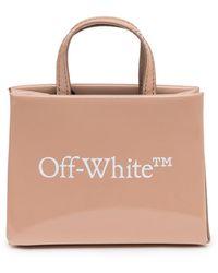 Off-White c/o Virgil Abloh Baby Box Tote Bag - Natural