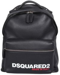 DSquared² Backpack With Logo - Black