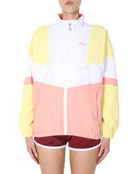 "Fila ""baka"" Colour Block Zip Jacket - Yellow"