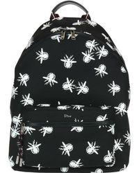 Dior Printed Backpack - Black