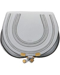 Chloé Marcie Mini Crossbody Bag - Gray