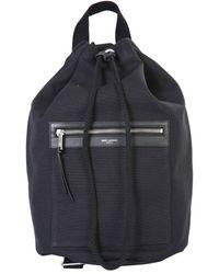 Saint Laurent City Sailor Backpack - Black