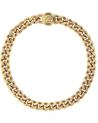 Versace Medusa Chain Necklace - Metallic