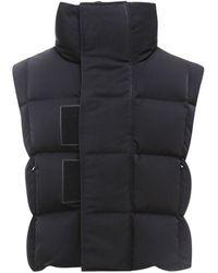 Givenchy Oversized Sleeveless Puffer Jacket - Black